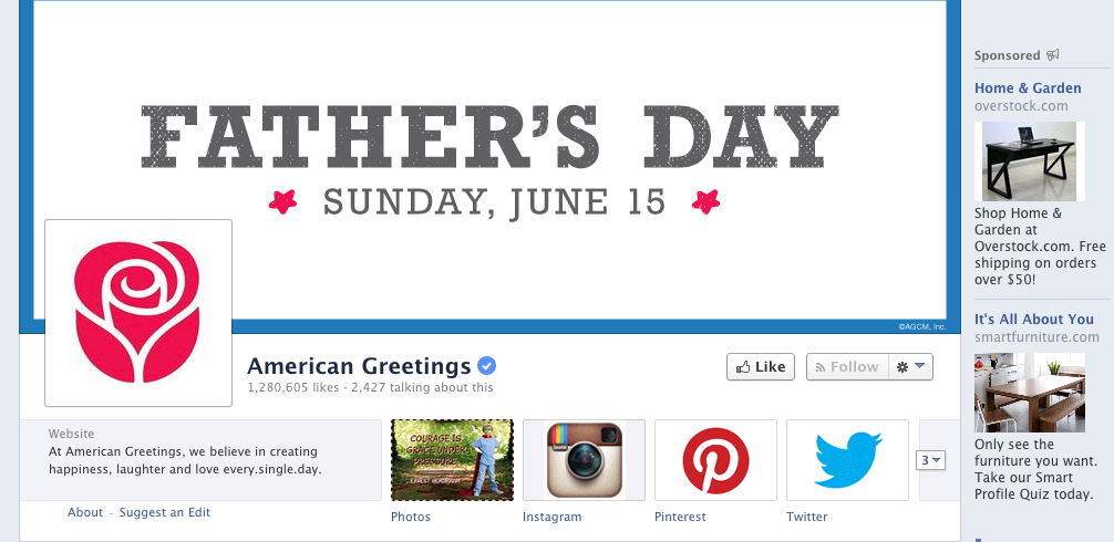 5 facebook apps for birthdays send cards greetings m4hsunfo